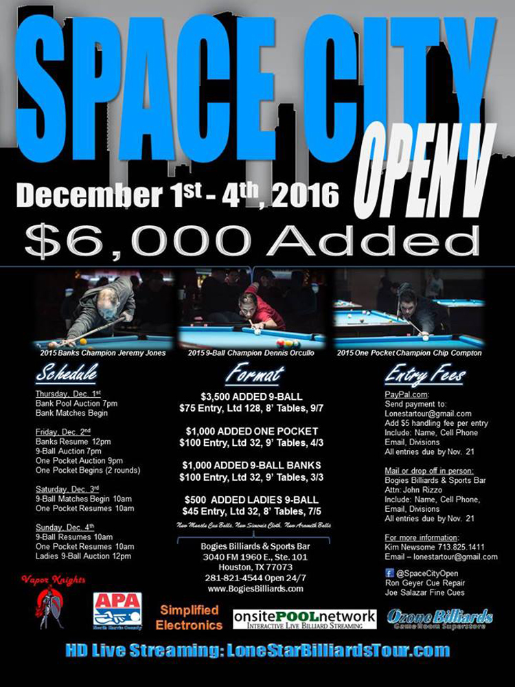 McMinn Emerges at Space City Open V